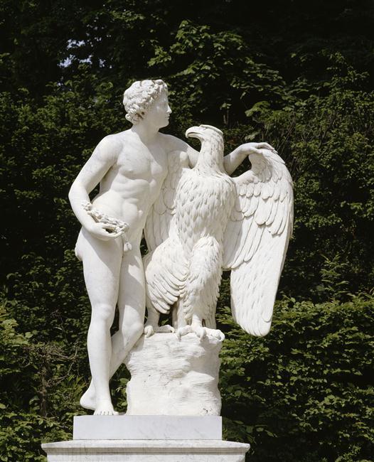ganymede - Ganymède, aimé de Jupiter, échanson des dieux 88-001585-03