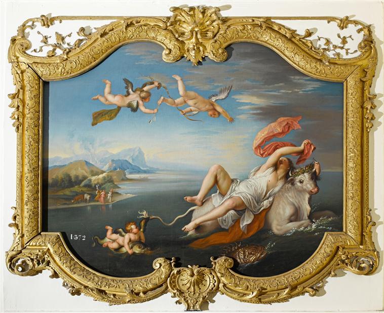 La princesse Europe ou Jupiter metamorphosé en taureau 08-517319