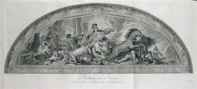 Bellone, déesse de la guerre ou des combats  02-010003