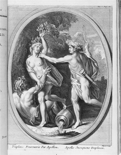 La nymphe Daphné ou la couronne de laurier d'Apollon 99-004615