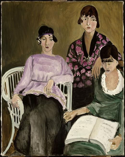 Les trois soeurs by Matisse