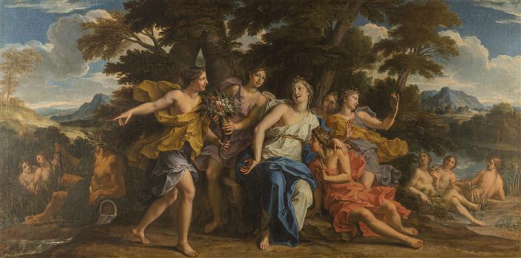Acheloos ou Achelous, le dieu fleuve à Versailles 14-587453