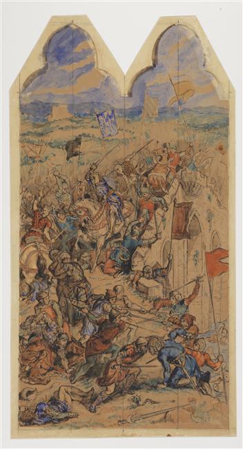 Cognac : Eugène Delacroix et la bataille de Taillebourg 11-561354
