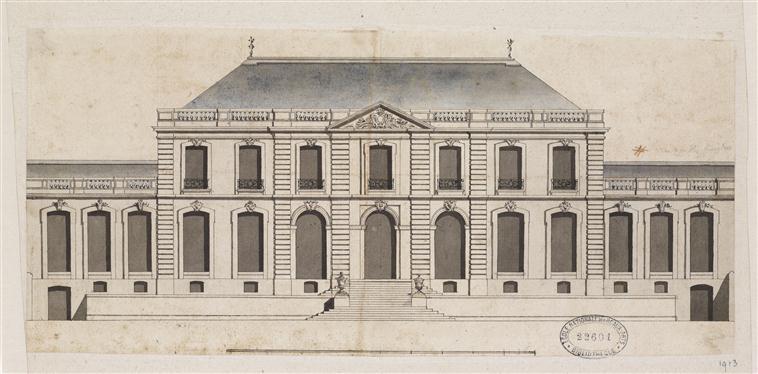 """Beaux-Arts de Paris, expo : """"Hôtels particuliers à Paris"""" 14-540976"""