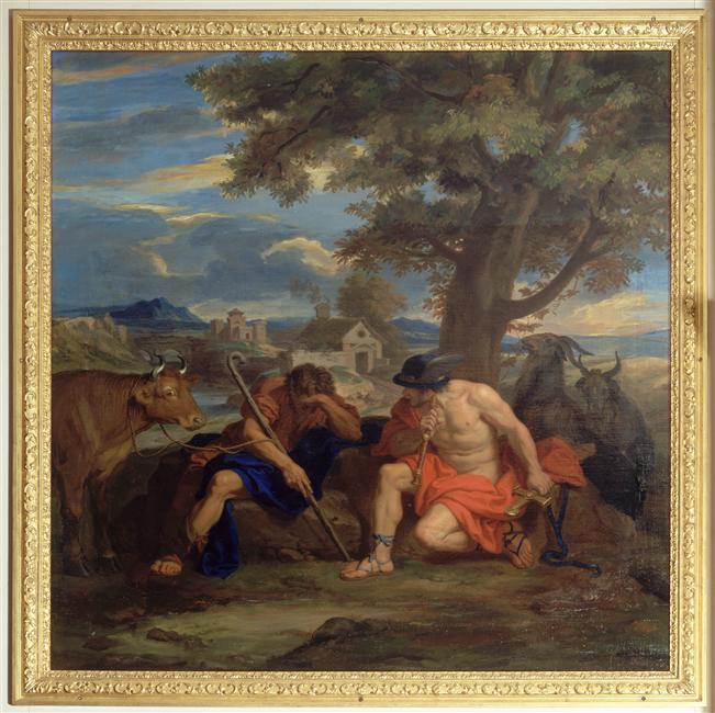 Argus, le berger aux 100 yeux & la queue du paon de Junon 02-014733