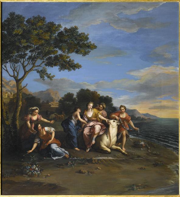 La princesse Europe ou Jupiter metamorphosé en taureau 10-517254