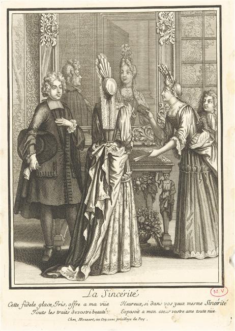 Héritage de Louis XIV dans l'histoire de la mode & textiles 05-519286
