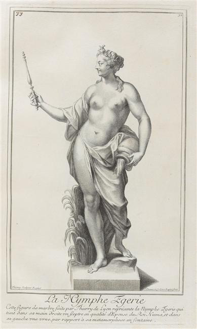 Egerie, nymphe des sources ou allégorie de l'Eau 03-013618