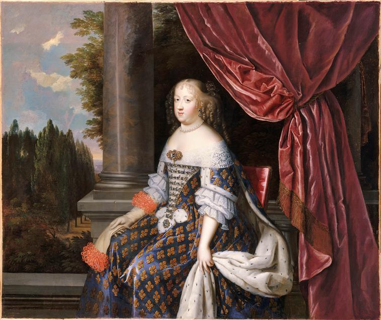 Oeuvre du mois : Marie Thérèse d'Autriche par les Beaubrun 86-001874