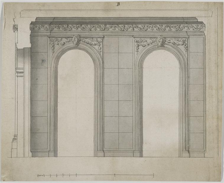 """Beaux-Arts de Paris, expo : """"Hôtels particuliers à Paris"""" 98-023782"""