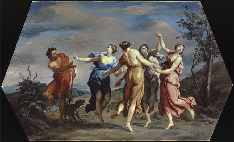 Le berger ou patre d'Apulie, dit Apulas, et les Nymphes 76-000130