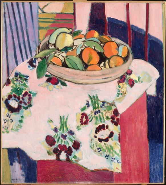 Nature morte aux oranges by Matisse