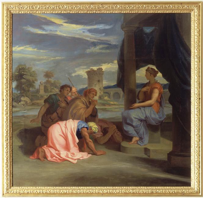 Le déesse Isis, une rare égyptienne à Versailles 02-014736