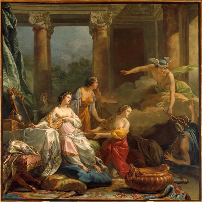 amours - La tenture des Amours des dieux au MBA d'Angers 05-509670