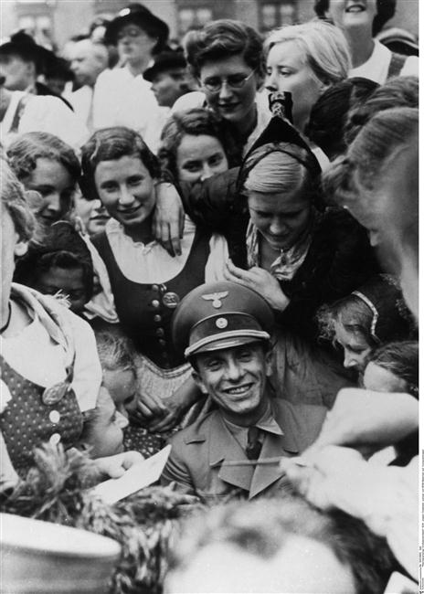Image result for Nazi rally on 18 February 1943 at the Berlin Sportpalast