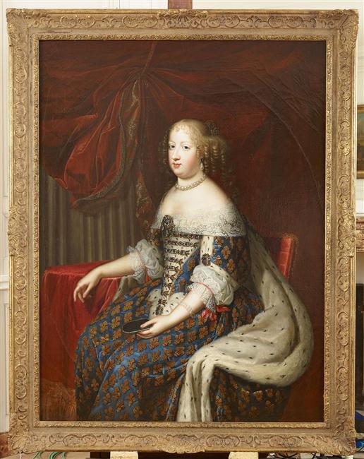 Oeuvre du mois : Marie Thérèse d'Autriche par les Beaubrun 15-534749