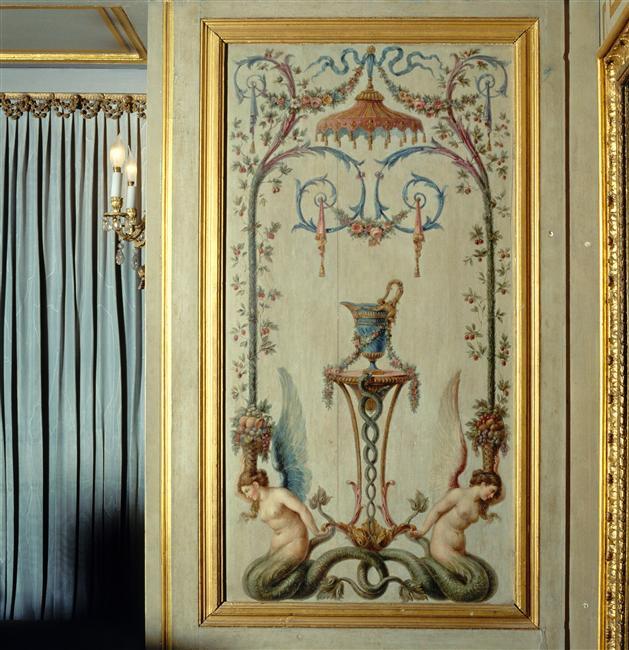 La sirène à Versailles, monstre hybride et dangereux 88-004345