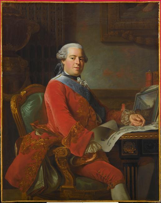 """Exposition """"Marigny, ministre des arts au château de Ménars"""" 07-509304"""