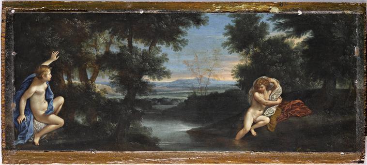 La naïade Salmacis ou l'amour fusionnel  16-578572