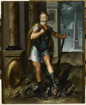 Hercule, héros antique et allégorie royale 11-518873