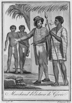 1510, the first African slaves left for America
