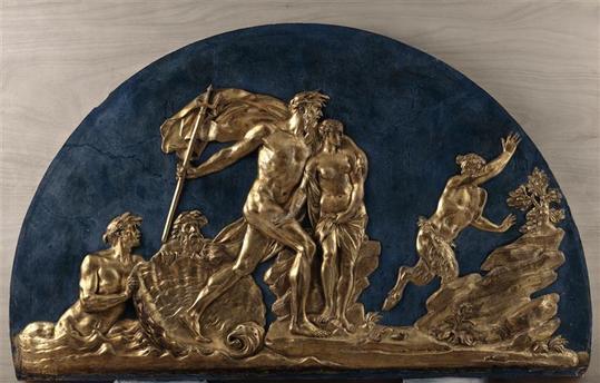 Expo. Archives nat. Les décors de la Chancellerie d'Orléans 97-001762