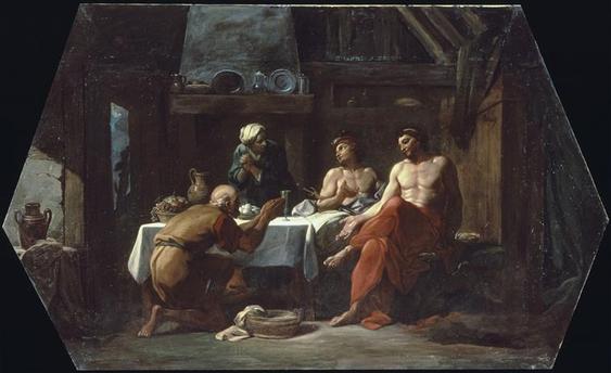 Les inséparables Philémon et Baucis 76-000128