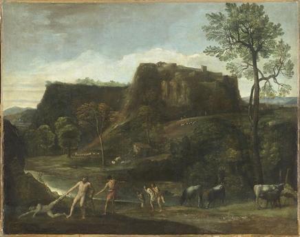 Cacus, dieu ou héros romain vaincu par Hercule 10-517325