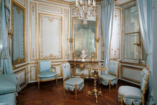 This is versailles cabinet de la meridienne for Chaises longues tressees