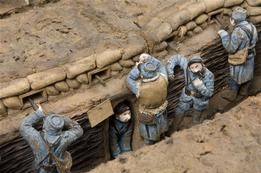 Reconstruction of a trench